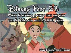 Mulan is my favorite Disney Movie. Disney Nerd, Disney Memes, Disney Quotes, Cute Disney, Disney Stuff, Princess Disney, Disney Trivia, Disney Princesses, Disney Characters
