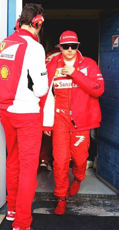 #Kimi #Raikkonen #iceman #ferrari #WelcomebackKimi #jerez #f1testing Day2 Wednesday (January 29) pic3