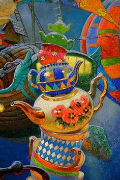 Вовлечение в сказку. Художник Виктор Низовцев - Ярмарка Мастеров - ручная работа, handmade