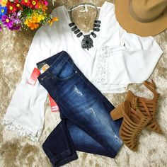 {Black Week} Calça jeans cintura média (tam 36 ao 40) por apenas R$10990 a prazo ou R$9890 a vista. Vai perder essa?  Compre pelo site http://ift.tt/PYA077.  Dúvidas ou informações pelo whats 47 9953-1716.  Agende sua visita em nosso showroom em Jaraguá do Sul!