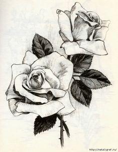 Мобильный LiveInternet Нарисовать розу | чего-ты-хочешь - Дневник чего-ты-хочешь |