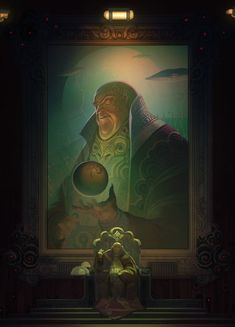 The Baron by Nick Southam - ImaginaryArrakis Dune Series, Digital Art Fantasy, Image Painting, The Dunes, Baron, Alien Logo, Fantasy World, Fantasy Characters, Mythology