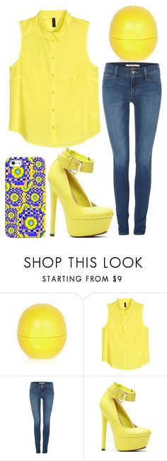 """""""Friday fashion"""" by j-n-a ❤ liked on Polyvore featuring River Island, H&M, Levi's and Casetify"""