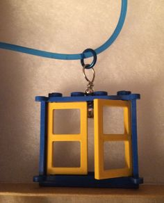 Swedish Lego Window Necklace by inthespicerack on Etsy