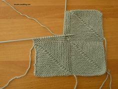 carrés au tricot, il y a plusieurs techniques Plus