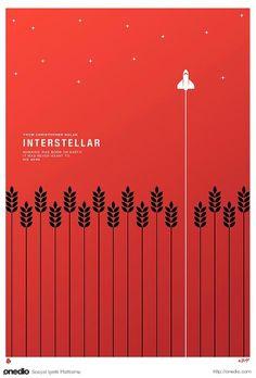 Interstellar Minimal Poster