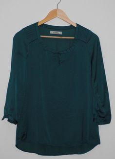 Kup mój przedmiot na #vintedpl http://www.vinted.pl/damska-odziez/koszule/8395832-pullbear-morska-bluzka-koszula-s
