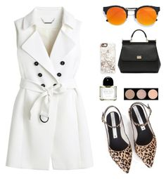 """Untitled #2271"" by danielasilva12 ❤ liked on Polyvore featuring White House Black Market, LULUS, Zolà, Casetify, Dolce&Gabbana, Byredo and Bobbi Brown Cosmetics"