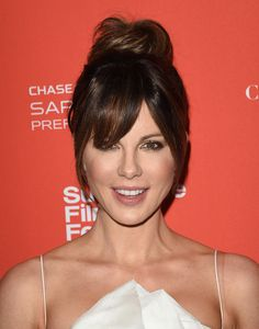 Hair Knot - Kate Beckinsale's Most Inspiring Hairstyles - Photos