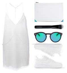 """white rabbit"" by baludna ❤ liked on Polyvore featuring Alexander Wang, NIKE, Charlie May, Illesteva, Givenchy and River Island"