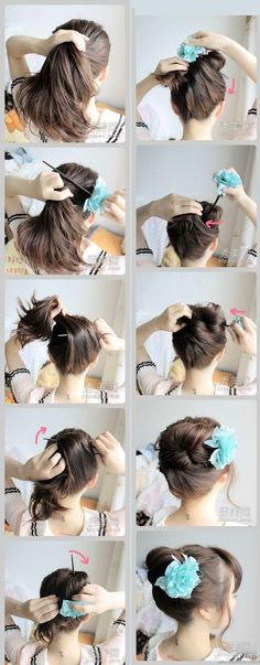 Flower In Your Hair - Hairstyles and Beauty Tips