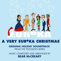 """Back Lot Music will release A Very Eureka Christmas digitally on November 20th and through other digital music outlets later in the month.  The album features composer Bear McCreary's (The Walking Dead, Battlestar Galactica) score for the two beloved Christmas episodes of the SyFy series Eureka: """"O Little Town"""" and """"Do You See What I See."""""""