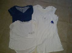 WOMANS TEE LOT GOOD USED CONDITION, EXPRESS, HOLLISTER, FOREVER21, THE LIMITED #ASSORTED