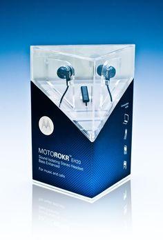 Motorola MOTOROKR Headset Package by J. Tirso Olivares, via Behance