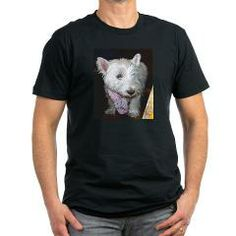 3 full westie T-Shirt > West Highland White Terrier > Paw Prints 5