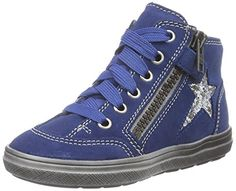 Richter Kinderschuhe Ilva, Mädchen Hohe Sneakers, Blau (ink/silver 6811), 33 EU - http://on-line-kaufen.de/richter-kinderschuhe/blau-ink-silver-6811-richter-kinderschuhe-ilva-2