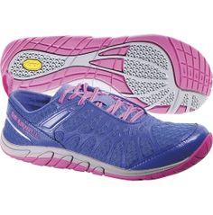228167eb4b3 Merrell Women s Barefoot Train Crush Glove Trail Running Shoe - Dazzling  Blue