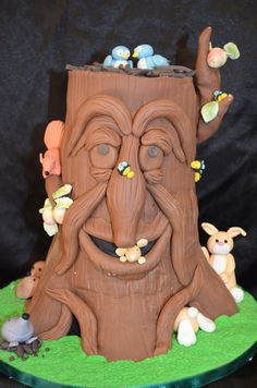 enchanted tree cake