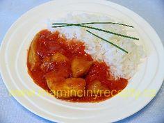 Kuře curry masala Curry, Chicken, Meat, Food, Curries, Essen, Meals, Yemek, Eten