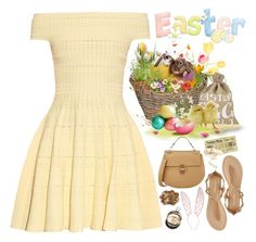 """""""2265. Happy Easter to all my lovely friends!"""" by chocolatepumma ❤ liked on Polyvore featuring Alexander McQueen, Chloé, Report, Garden Trading, Public Library, Fleur du Mal, Chanel and L. Erickson"""