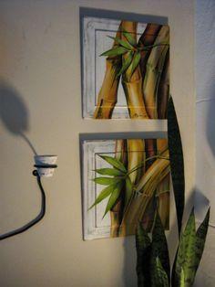 bambu brasil painting by Argina Seixas