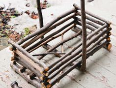 Clean up the twigs from your farm property and put them to use in this garden-tool carrier.