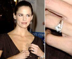 Pin for Later: Die schönsten Eheringe der Stars Jennifer Garner Jennifer Garner traf Scott Foley 1998 am Filmset von Felicity. Im Oktober 2000 folgte die Heirat.