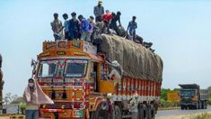 Truck carrying migrant workers overturns in Uttar Pradesh's Mahoba; 3 dead several injured Migrant Worker, Emergency Response, Police Station, Carry On, Trucks, Hand Luggage, Carry On Luggage, Truck