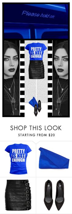 """Pretty Is Not Enough (31)"" by irresistible-livingdeadgirl ❤ liked on Polyvore featuring Diane Von Furstenberg, Gucci, Blue, DianeVonFurstenberg, gothic, gucci and MINISKIRT"