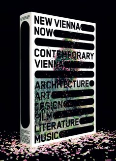 New Vienna Now, design by Sagmeister & Walsh Sagmeister And Walsh, Stefan Sagmeister, Graphic Design Books, Graphic Design Illustration, Graphic Designers, Book Cover Design, Book Design, Experimental Type, Folders