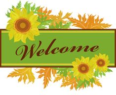 Clip Art To Make Your Own Welcome Sign