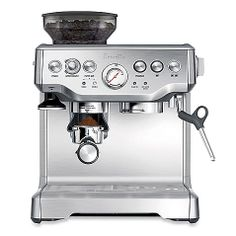 A must-have for my future kitchen. Breville Barista Express BES870XL Espresso Maker.