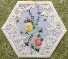 Block 8 completed, by Rhonda Dort.