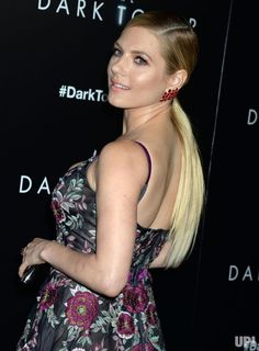 Katheryn Winnick arrives on the red carpet at 'The Dark Tower' New York Premiere on July 31, 2017 in New York City. Photo by Dennis Van…