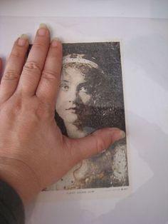 Simple inkjet image transfer