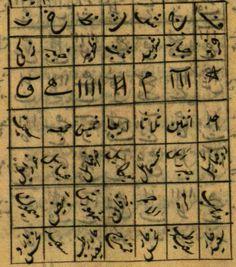 Sharh Ism Allah al-a`zam- Muhyi ed-din Abu a-Abbas Ahmed ibn Ali al-Buni Ibn Ali, Muslim Culture, Magic Squares, Circumcision, Imam Hussain, Islamic Messages, Cairo Egypt, Writing Styles, Islam Quran