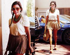 I love Kourtneys style!