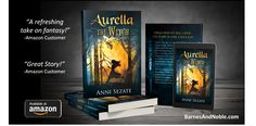 Aurella the WItch by Anni Sezate. Fantasy novel for summer reading!