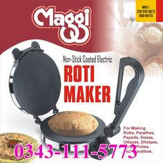 Electric Automatic Roti Maker Chappati Maker in pakistan To Order Call, SMS OR Whatsapp Now: 0343-111-5773, 0333-441-7545