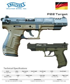 Walther - P22 Target