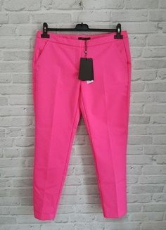 Kup mój przedmiot na #vintedpl http://www.vinted.pl/damska-odziez/spodnie-inne/18418048-spodnie-rozowe-cygaretki-marki-mohito-idealne-na-komunie