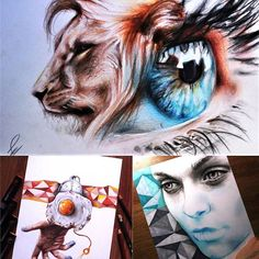 Incredible art created with Chameleon Products!! We're blown away by how amazing these conceptual designs by @elia_pelle are!! For those who don't know who Elia is, he's an 18 year old self-taught artist from Italy.  And he's definitely one to keep your eye on... we can't wait to see what the future has in store!  To see more incredible creations, make sure you head on over to Elia's Instagram. :)   #chameleonpens #elia_pelle #colour #color #colouring #coloring #art #artist #worldofartists…