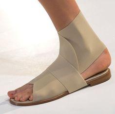 Victoria Beckham sandals via WGSN