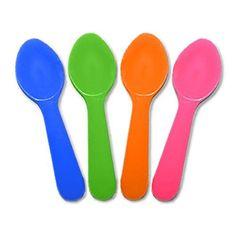 Miniature Plastic Colored Tasting Spoons - 100 ct (Mixed)... https://www.amazon.com/dp/B00Z2RT7Q4/ref=cm_sw_r_pi_dp_x_-1YlybK3SF3EK