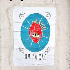 arte de rua Vital Lordelo com paixão