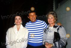 1985 Annette Funicello, Frankie Avalon and Wife Kay Photo by Ralph Dominguez/Globe Photos