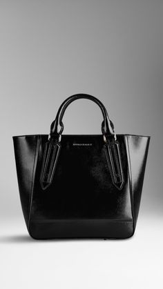 Burberry Large Patent London Leather Portrait Tote Bag Marken Taschen d2877d2102215