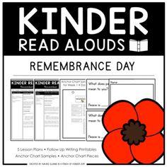 FREE Kinder Read Alouds - Remembrance Day - by A Pinch of Kinder - Yukari Naka