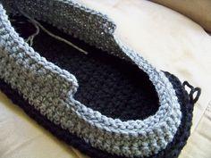 Easy Crochet Slippers for Men | Crochet Slipper Patterns