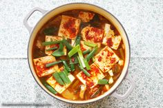 cooking. eating. carousing.: kimchi jjigae 김치찌개